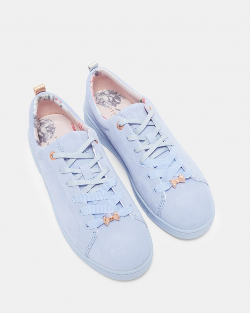 Ted Baker Lace Up Suede Tennis Trainer