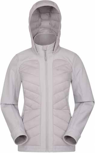 Mountain Warehouse Aviemore Womens Baffle - Grey Jacket