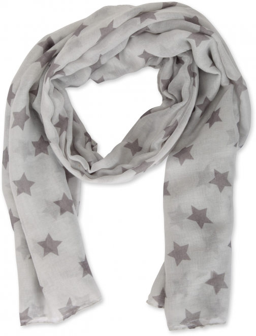 Mountain Warehouse Star Printed Lightweight - Grey Scarf