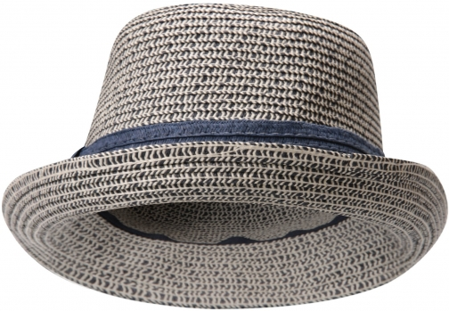 Mountain Warehouse Womens Straw Trilby - Beige Hat