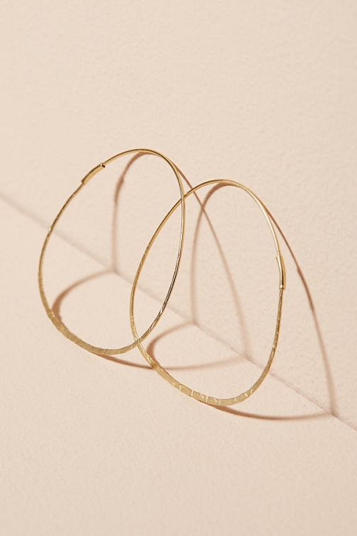 Anthropologie Decorative Carola Hoop Earring
