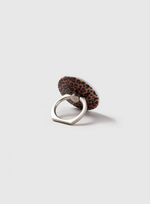 Dorothy Perkins Multi Coloured Leopard Print Phone Ring