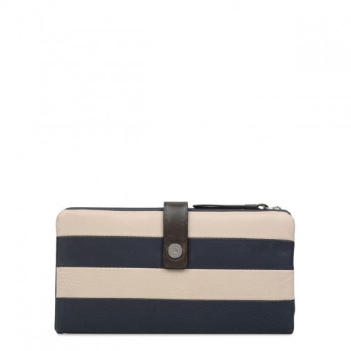 Radley Babington Stripe Large Folded Matinee Purse