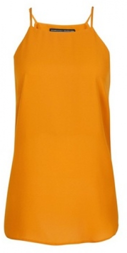 Dorothy Perkins Yellow Camisole Top