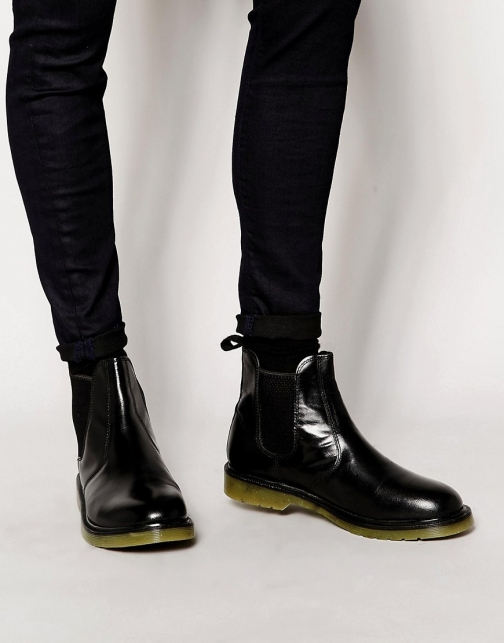 Red Tape Leather Chelsea Boot