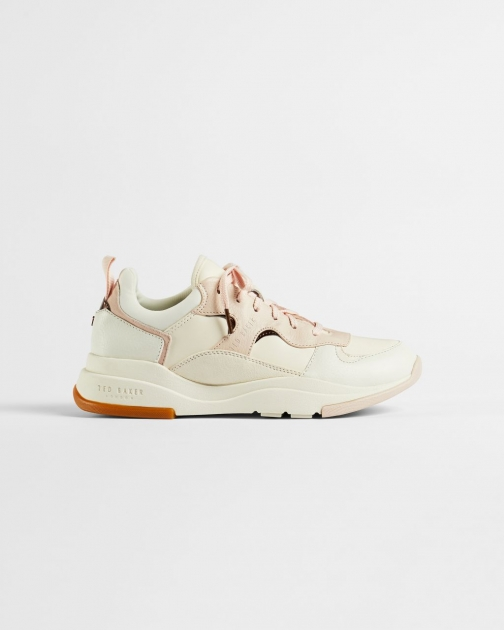Ted Baker Leather Mix Chunky Trainer