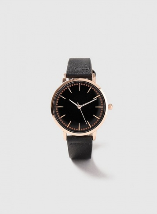 Dorothy Perkins Black Face Watch