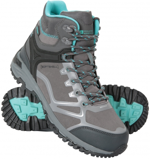 Mountain Warehouse Odyssey Womens Softshell - Grey Boot