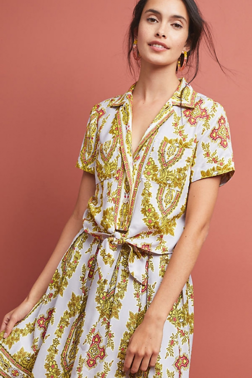 Anthropologie Echarpe Blouse