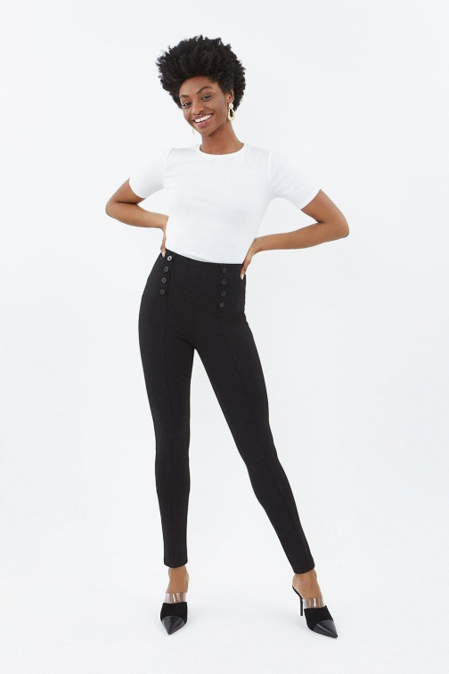 Coast Ponte Black, Black Jegging