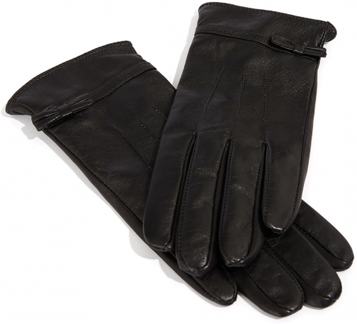 Oasis LEATHER WITH BOW Glove