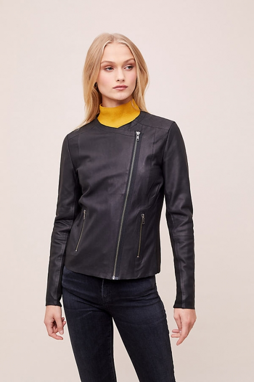 Selected Femme Kerstin Leather Jacket