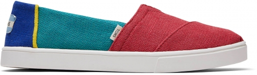 Toms Heritage Canvas Women's Cupsole Classics Venice Collection Slip-On Shoes
