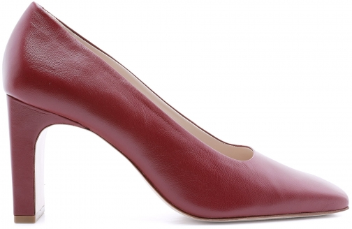 Schutz Shoes Chaneia Pump - 5 Rosewood Leather Pumps