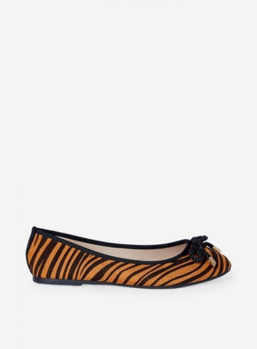 Dorothy Perkins Multi Colour 'Priscilla' Tiger Print Pumps