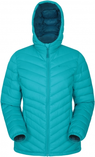 Mountain Warehouse Seasons Womens Padded - Teal Jacket