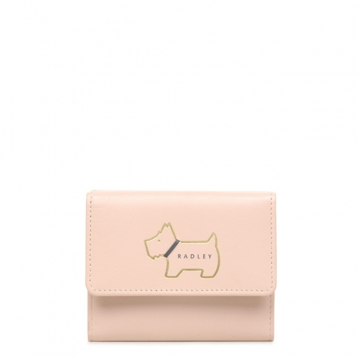 Radley Heritage Dog Outline Small Trifold Purse
