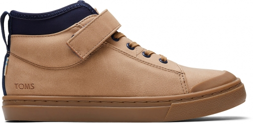Toms Honey Synthetic Suede Youth Cusco Sneakers Shoes Trainer