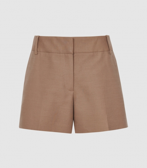 Reiss Lyla - Tailored Latte, Womens, Size 4 Short