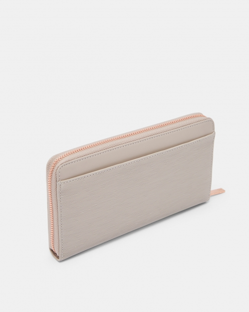 Ted Baker Bow Zip Around Matinee Purse