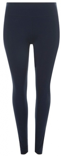 Dorothy Perkins Womens **DP Curve Navy Cotton And Elastane - Blue, Blue Legging