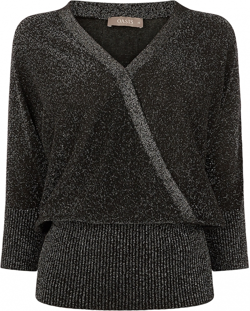 Oasis BRIONY WRAP Jumper