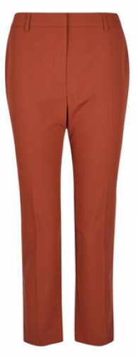 Dorothy Perkins Petite Tabbacco Naples Ankle Grazer Trousers Trouser