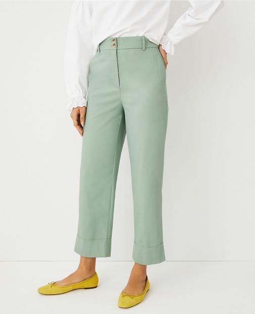 Ann Taylor The Petite Easy Pant - Curvy Fit Chino