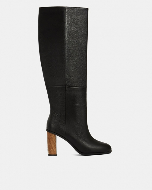 Ted Baker Leather Knee High Boot
