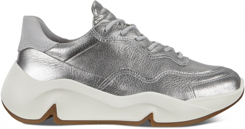 Ecco Chunky Womens Sneakers Size 4 Alusilver Trainer