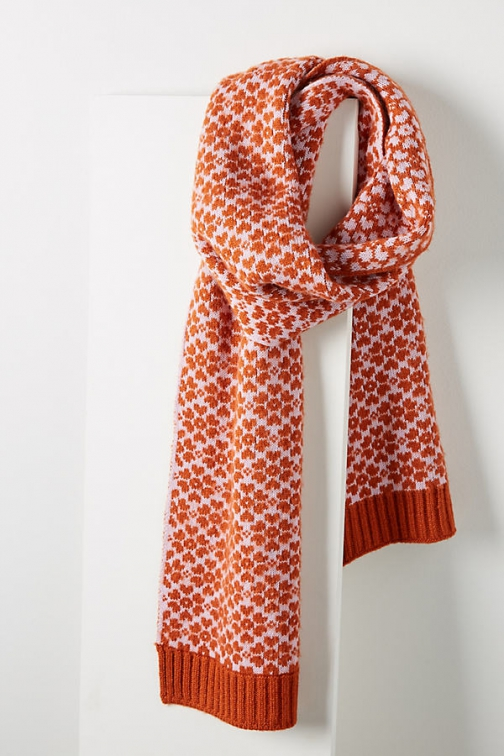 Anthropologie Graphic Scarf