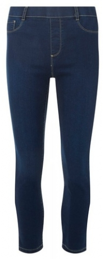 Dorothy Perkins Womens **Tall Indigo Authenic 'Eden' - Blue, Blue Cropped Jeans