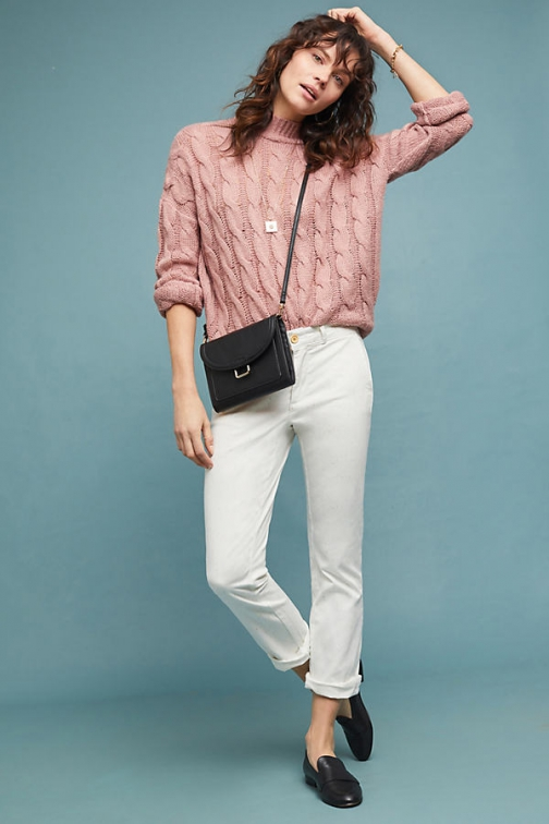 Chino By Anthropologie Speckled Trousers Chino