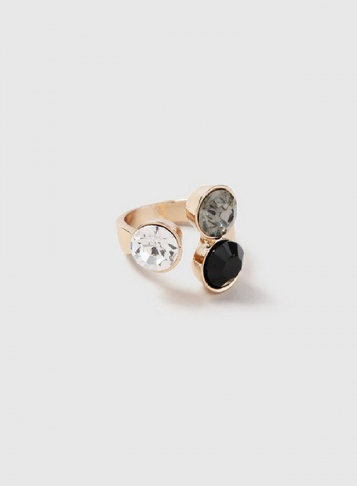 Dorothy Perkins Triple Stone Ring