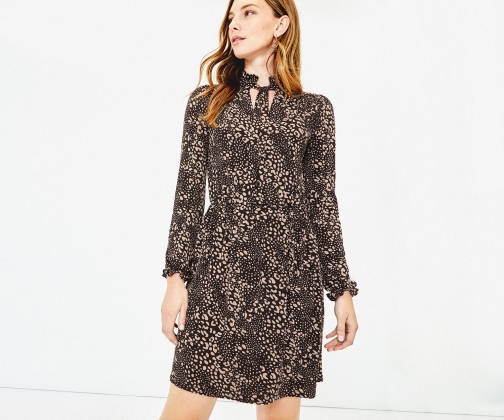 Oasis Mollie Pussybow Dress