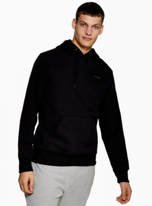 Only & Sons Mens ONLY & SONS Black 'Joaquin' , Black Hoodie