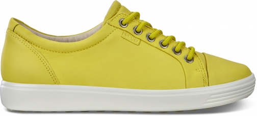 Ecco Women's Soft 7 Sneaker Size 4-4.5 Canary Trainer