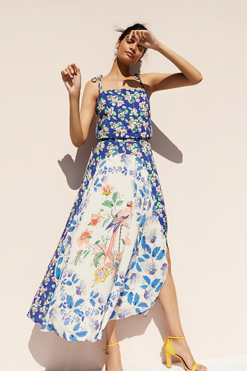 Anthropologie Passaro Printed - Assorted, Size Dress