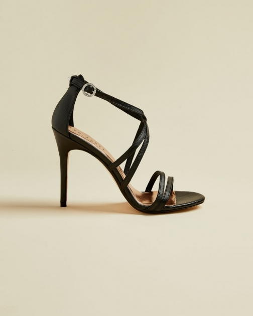 Ted Baker Metallic Strappy Leather Sandals