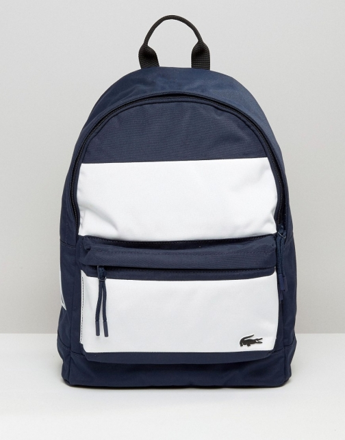 Lacoste Colour Block Backpack