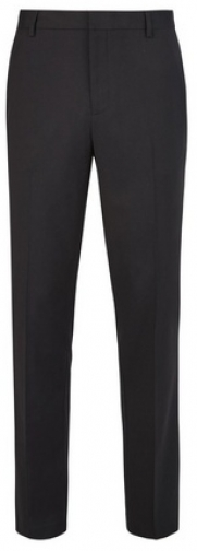Burton Black Tailored Fit Stretch Trousers Trouser