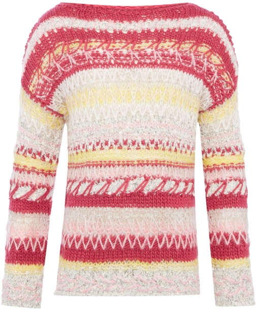 Benetton Girls Long Sleeve Knit Jumper