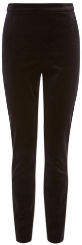 Karen Millen High-Waisted Velvet Legging
