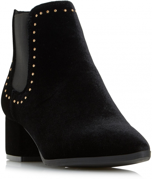 Head Over Heels Penly Studded Chelsea Ankle Boot
