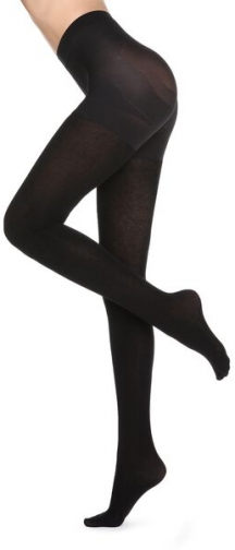 Calzedonia Total Shaper Cashmere Woman Black Size 3 Tight