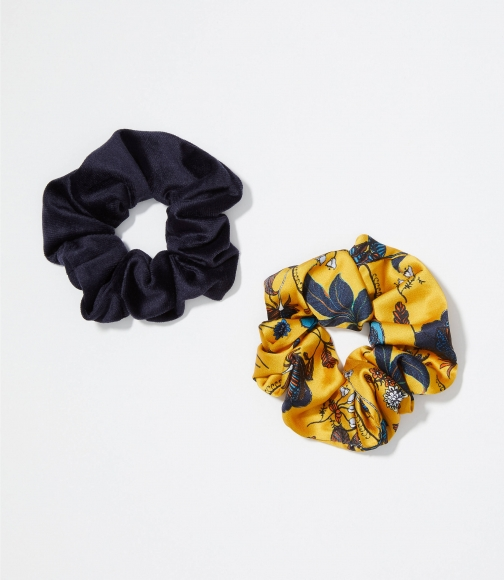 Loft Bouquet Scrunchie Set Headwear