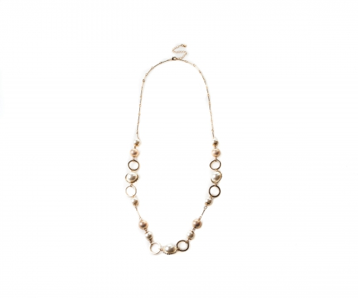 Oasis CRYSTAL PEARL ROPE Necklace