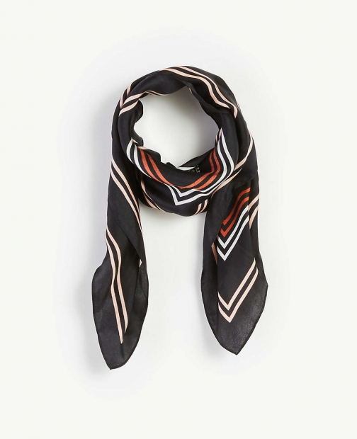 Ann Taylor Medallion Square Scarf