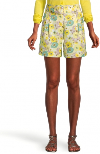 Ann Taylor Factory Belted Short