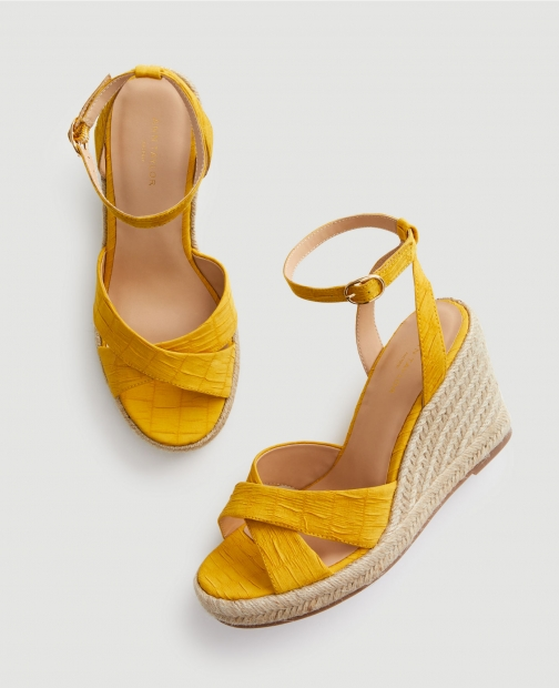 Ann Taylor Factory Espadrille Wedge Sandals